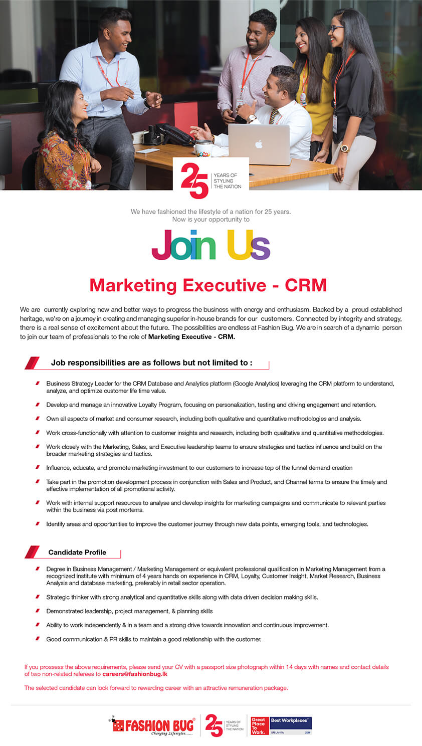 Marketing Executive-CRM