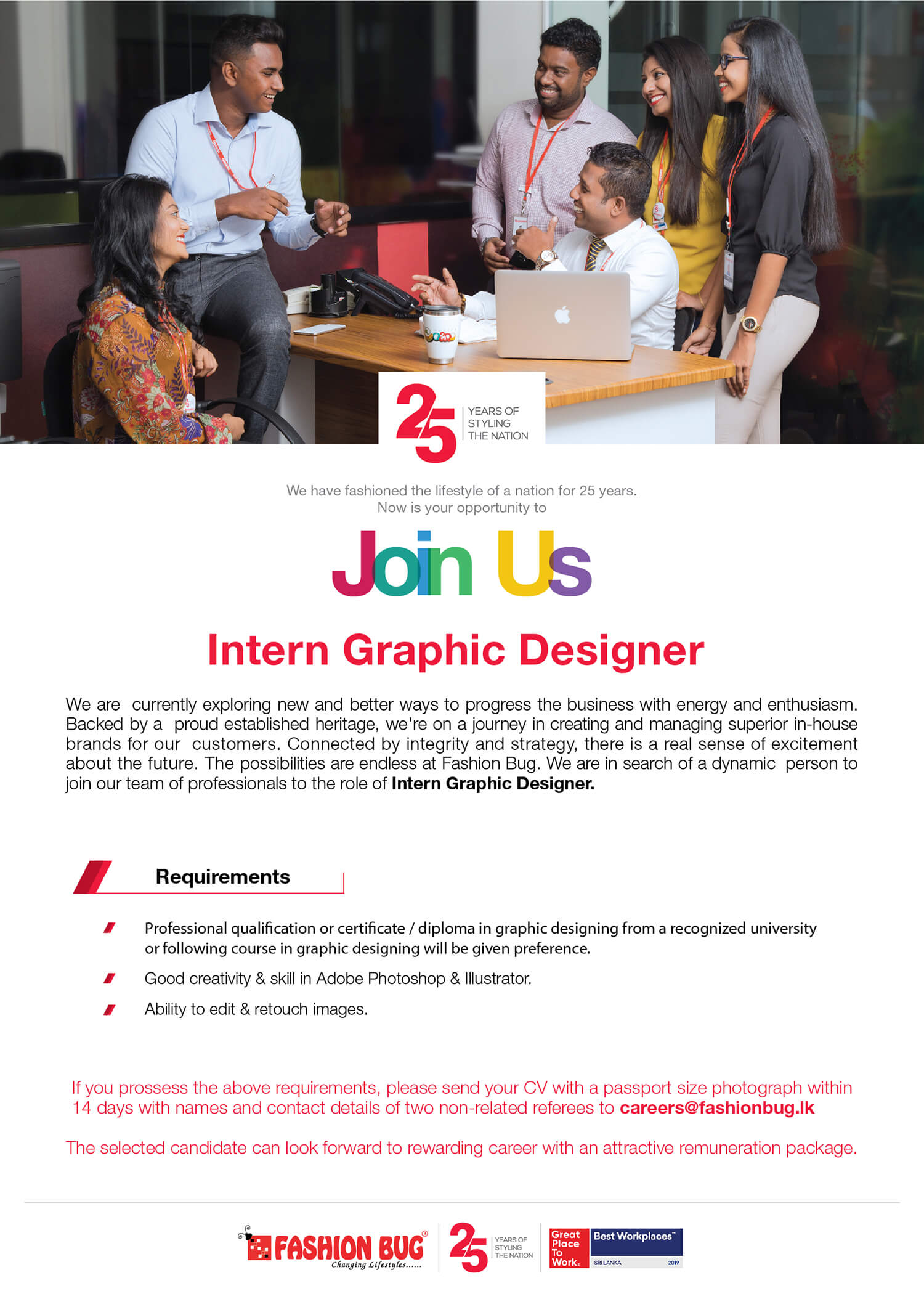 Intern Graphic Designer