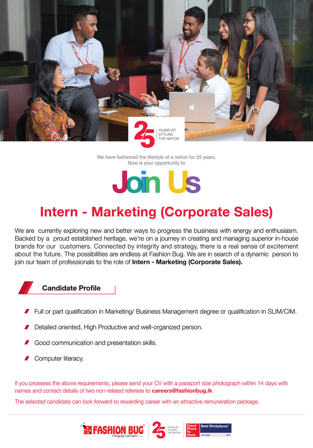 Intern-Marketing (Corporate Sales)