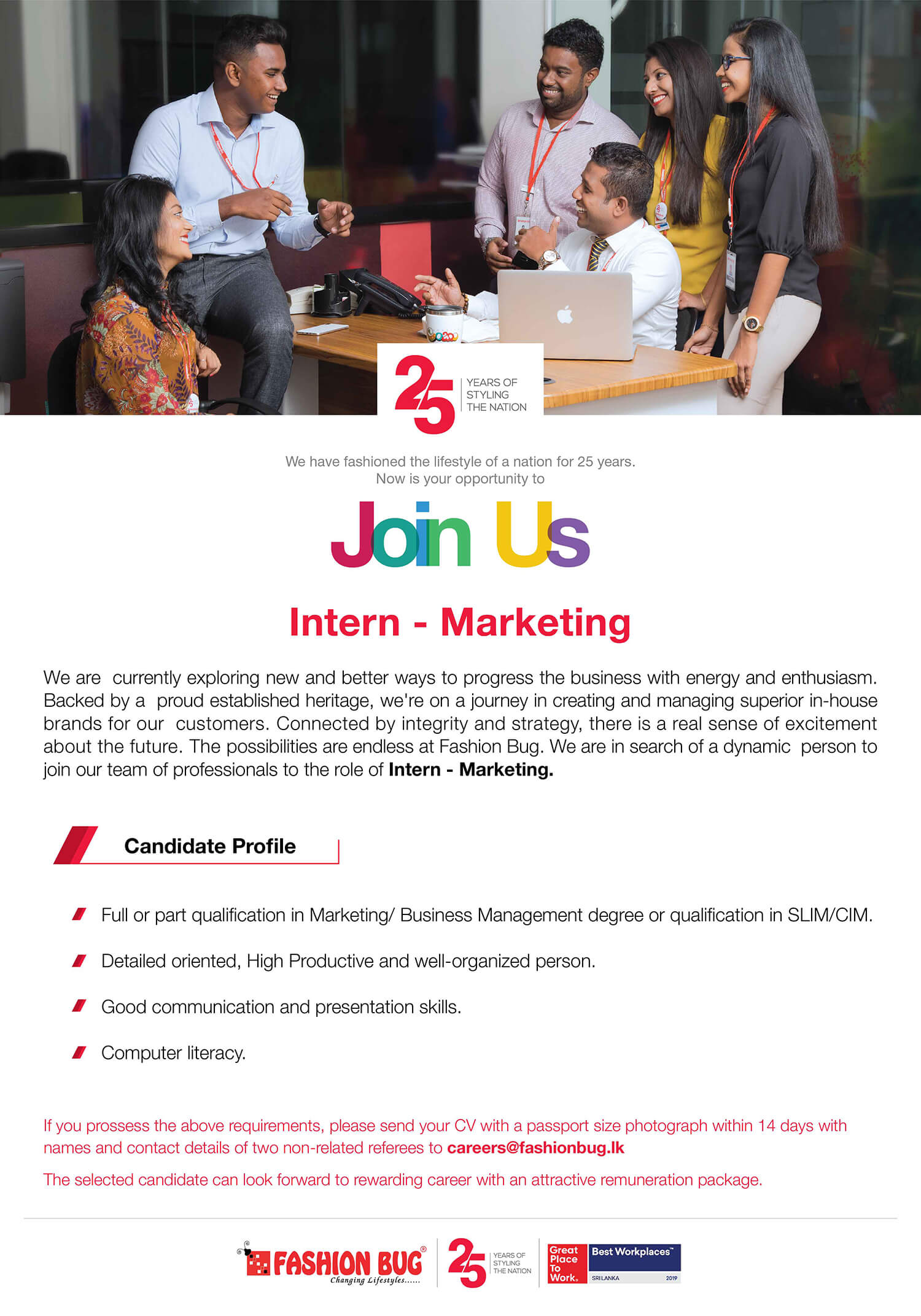 Intern – Marketing